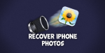 how to recover lost photos on iphone